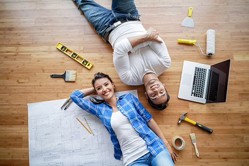 Buying a Chicago home that requires some remodeling.