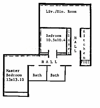 1540 N State Floorplan - C Tier