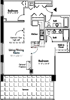 1845 S Michigan Floorplan - 01 Tier*