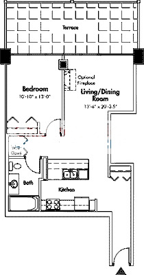 1845 S Michigan Floorplan - 08 Tier*