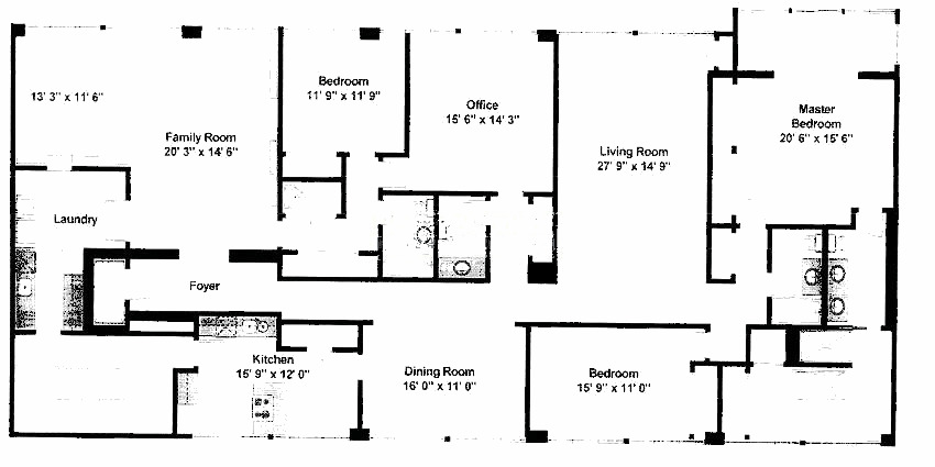 1 E Schiller Ave Floorplan - 5AB Tier