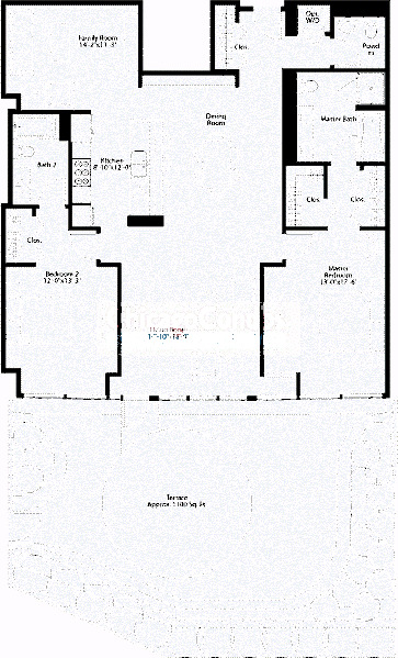 240 E Illinois Floorplan - 01 Tier*