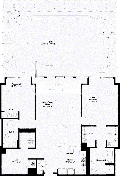 240 E Illinois Floorplan - 02 Tier*