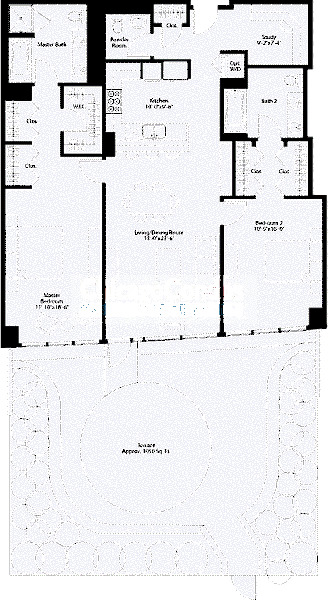 240 E Illinois Floorplan - 03 Tier*