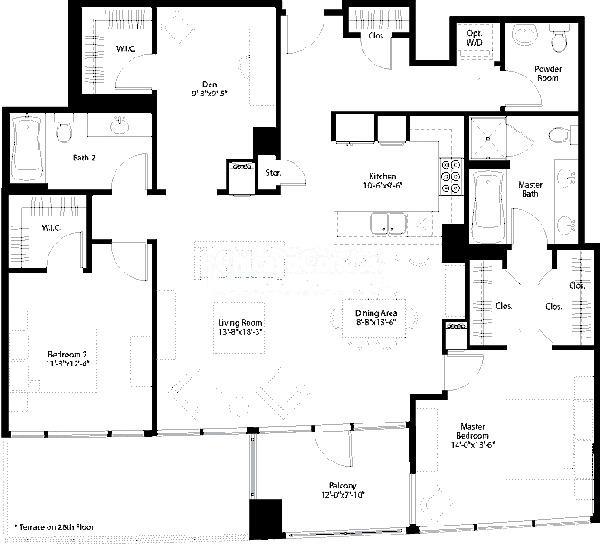 240 E Illinois Floorplan - 05 Tier*