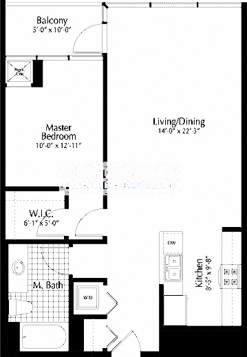 303 W Ohio Floorplan - 01 Tier