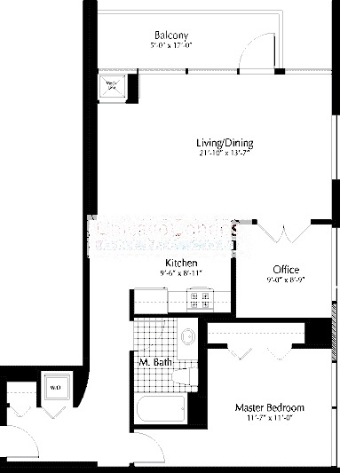 303 W Ohio Floorplan - 02 Tier*