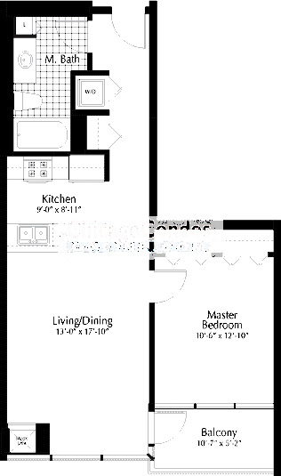 303 W Ohio Floorplan - 04 Tier