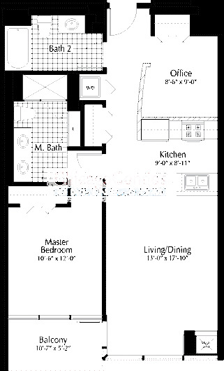 303 W Ohio Floorplan - 05 Tier*