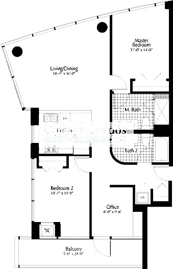303 W Ohio Floorplan - 07 Tier