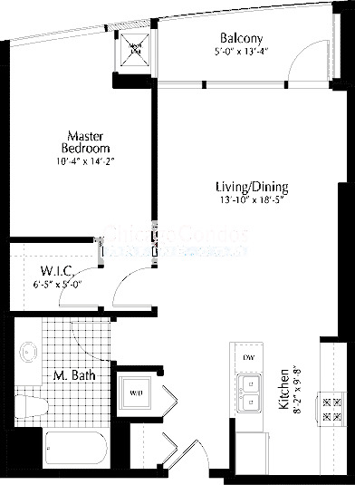 303 W Ohio Floorplan - 08 Tier