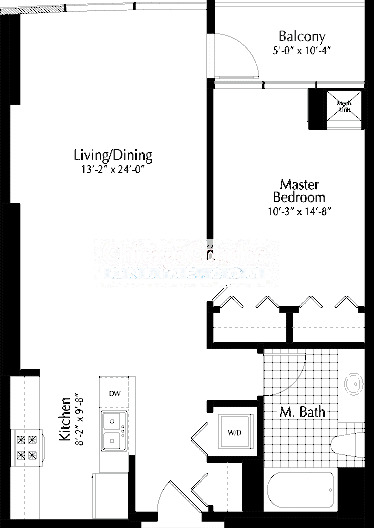 303 W Ohio Floorplan - 09 Tier