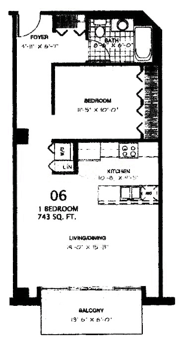 340 W Superior  Floorplan - 06 Tier*
