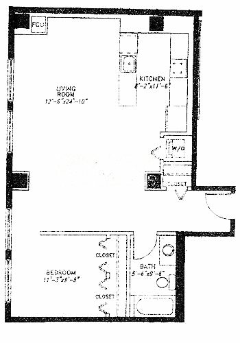 5 N Wabash Floorplan - A Tier*