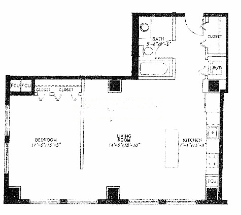 5 N Wabash Floorplan - B Tier*