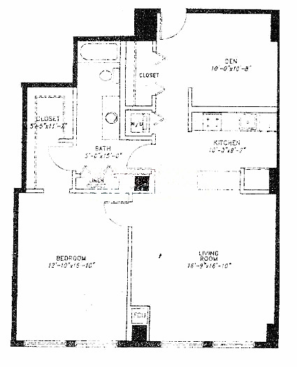 5 N Wabash Floorplan - C Tier*