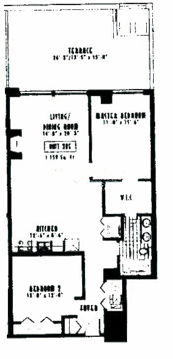 1635 W Belmont Ave Floorplan - 205 Tier