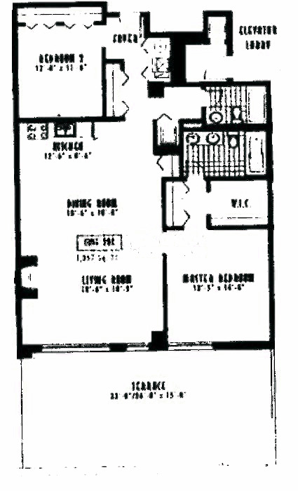 1635 W Belmont Ave Floorplan - 206 Tier*
