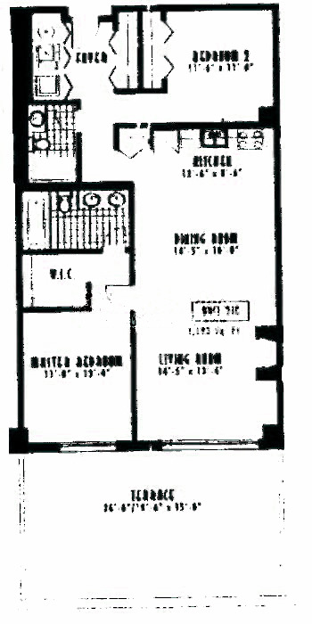 1635 W Belmont Ave Floorplan - 216 Tier*