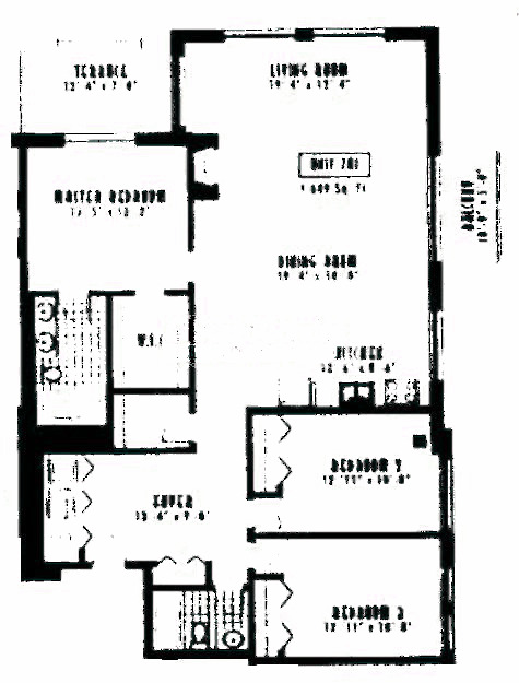 1635 W Belmont Ave Floorplan - 701 Tier*