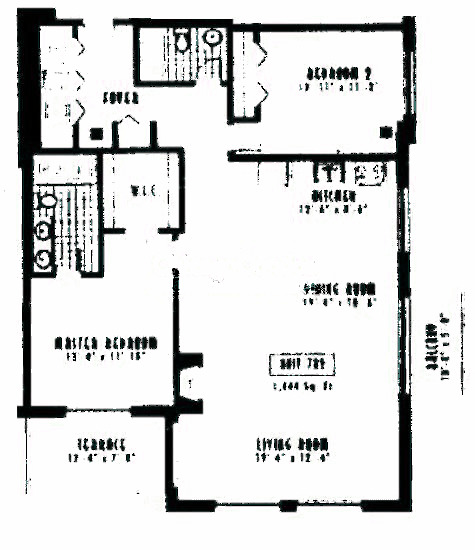 1635 W Belmont Ave Floorplan - 702 Tier*