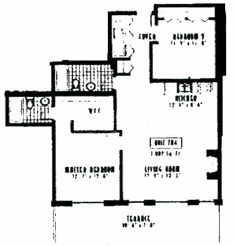 1635 W Belmont Ave Floorplan - 704 Tier*