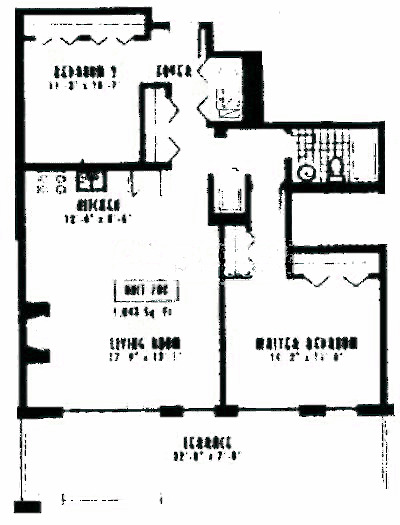 1635 W Belmont Ave Floorplan - 706 Tier*