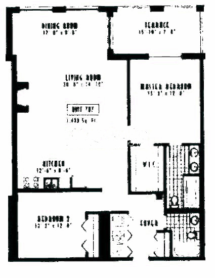 1635 W Belmont Ave Floorplan - 707 Tier*
