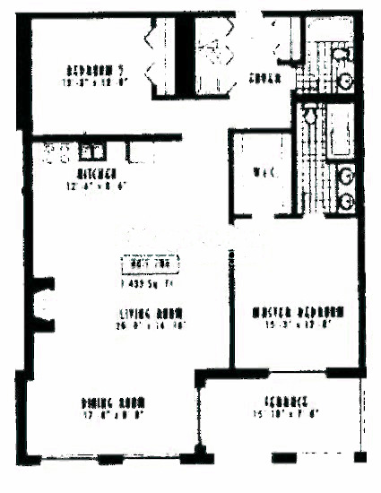 1635 W Belmont Ave Floorplan - 708 Tier*