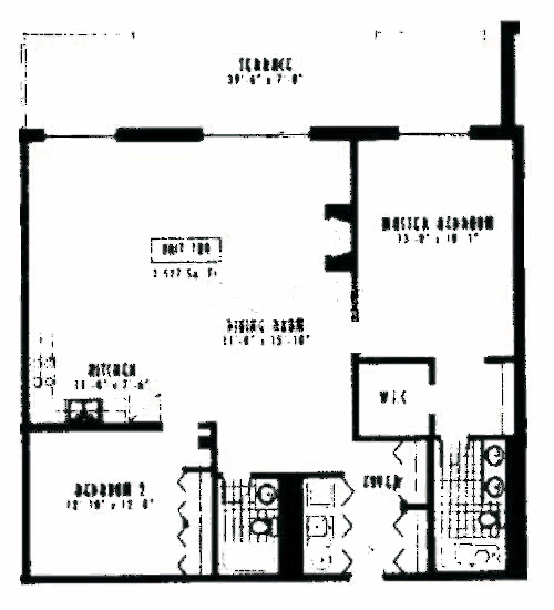 1635 W Belmont Ave Floorplan - 709 Tier