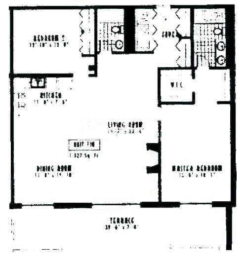 1635 W Belmont Ave Floorplan - 710 Tier*
