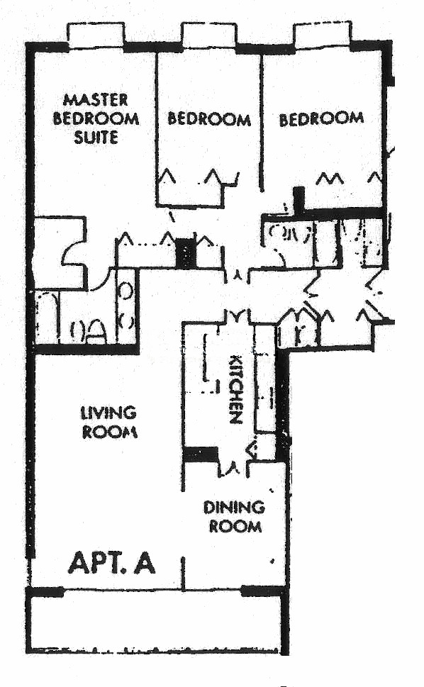 1212 N Lake Shore Drive Floorplan - A Tier*