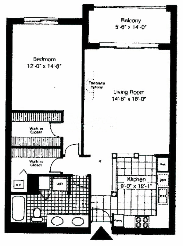 55 W Delaware Floorplan - Buckingham*