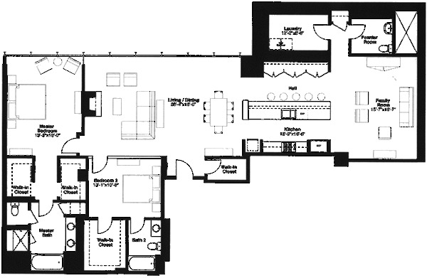 500 W Superior Floorplan - F3 (08) Tier*
