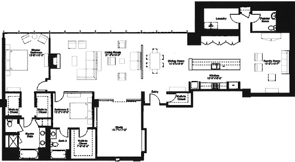 500 W Superior Floorplan - Skyview F4 (08) Tier