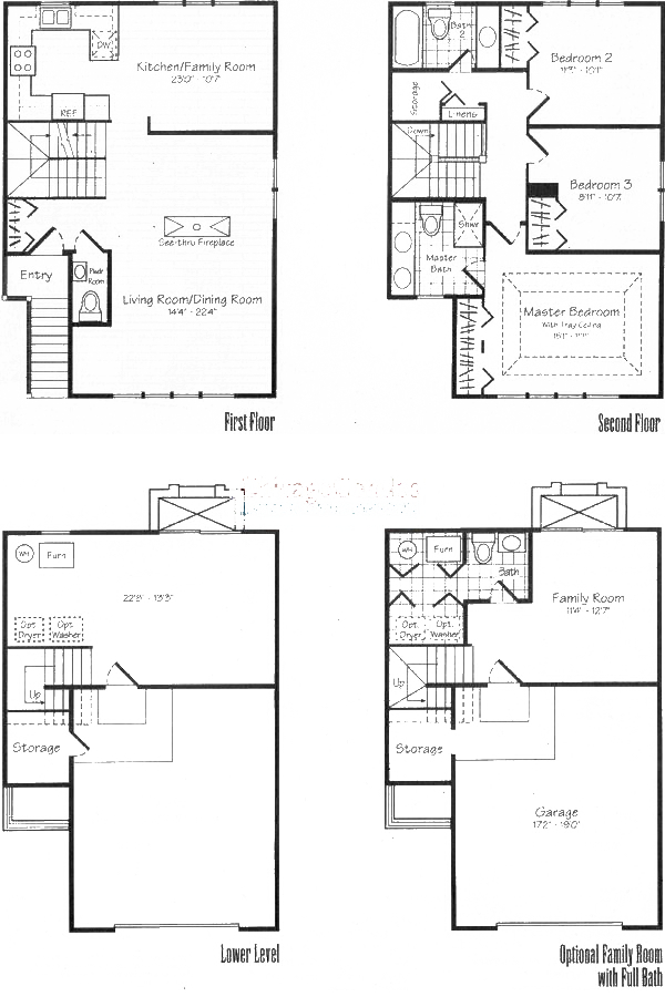 1806 W Diversey Ave Floorplan - Carlyle
