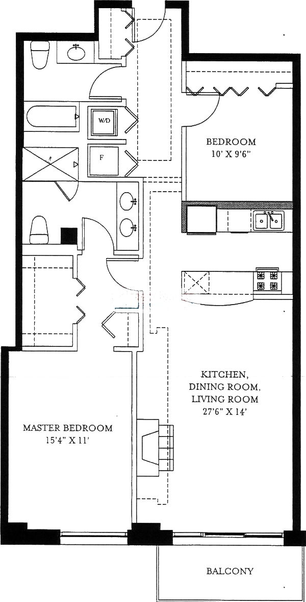 1201 W Adams Floorplan - 09 Tier*