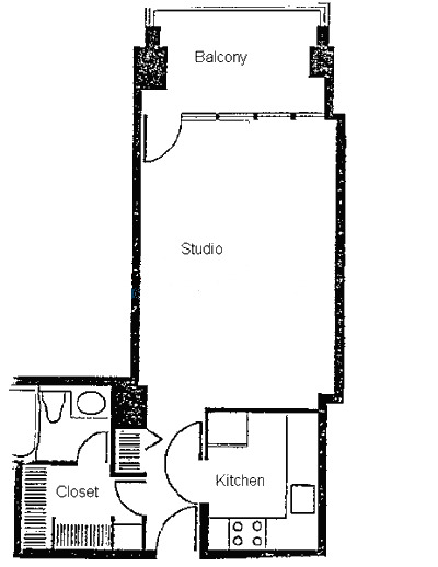 1960 N Lincoln Park West Floorplan - 02 Tier*