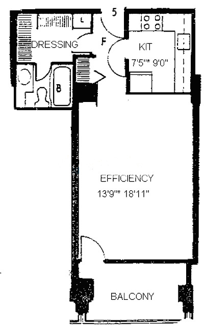 1960 N Lincoln Park West Floorplan - 05 Tier*