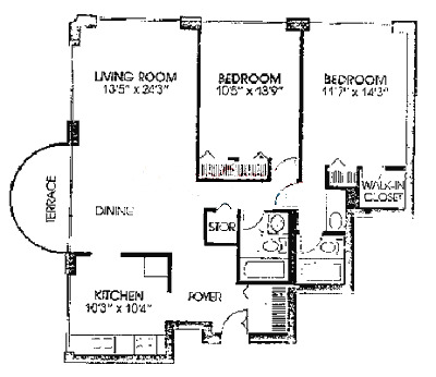 2020 N Lincoln Park West Floorplan - A Tier