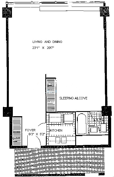 900 N Lake Shore Drive Floorplan - 05 Tier