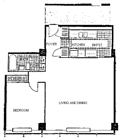 900 N Lake Shore Drive Floorplan - 10 Tier