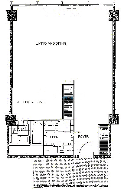 900 N Lake Shore Drive Floorplan - 11 Tier