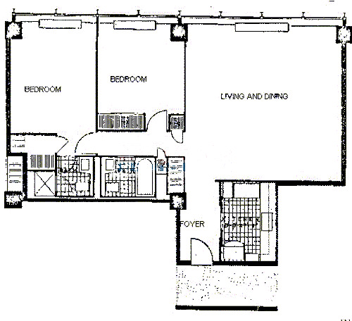 900 N Lake Shore Drive Floorplan - 17 Tier*