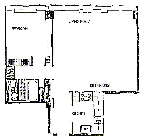 900 N Lake Shore Drive Floorplan - 18 Tier*