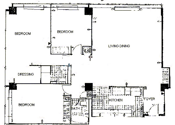900 N Lake Shore Drive Floorplan - 19 Tier*