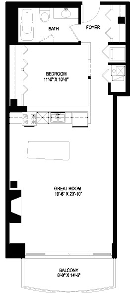 1330 W Monroe Floorplan - 02 Tier*