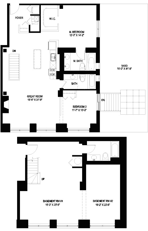 1330 W Monroe Floorplan - 03 Tier*