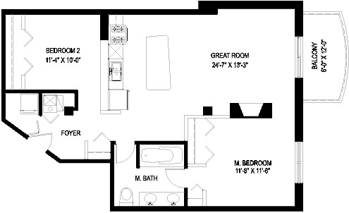 1330 W Monroe Floorplan - 04 Tier*