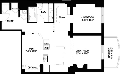 1330 W Monroe Floorplan - 05 Tier*